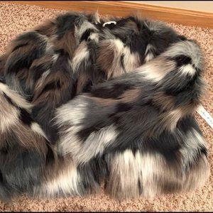 Fur coat Willow & clay